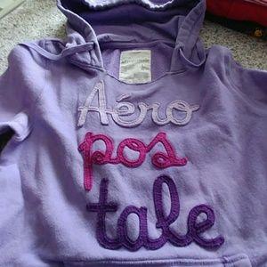 Aeropostale hoodie.